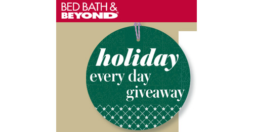 Bed Bath And Beyond Christmas Sweepstakes