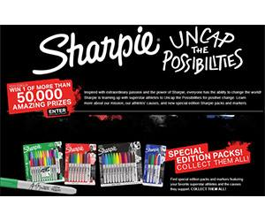 Sharpie Uncap The Possibilities Instant Win Game Over