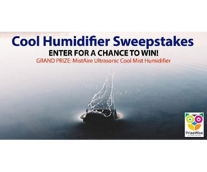 cool humidifier sweepstakes
