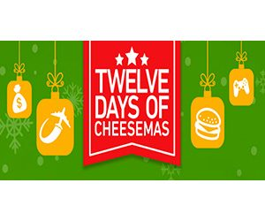 Burger King 12 Days of Cheesemas Instant Win Game