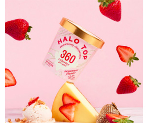 halo top sweepstakes halo top ice cream strawberry cheesecake sweepstakes 3760