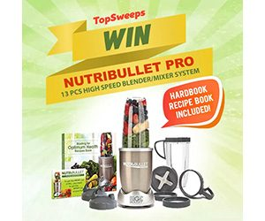 Nutribullet Pro Giveaway - Sweepstakes And More At TopSweeps